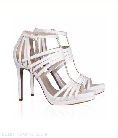 Sandalias de tacón para bodas 2014