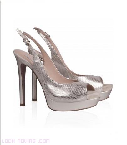 Sandalias originales para novias