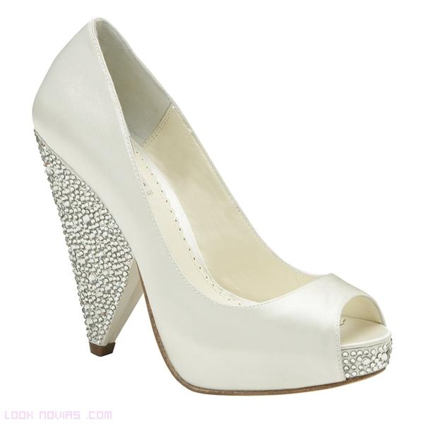 zapatos elegantes para novia