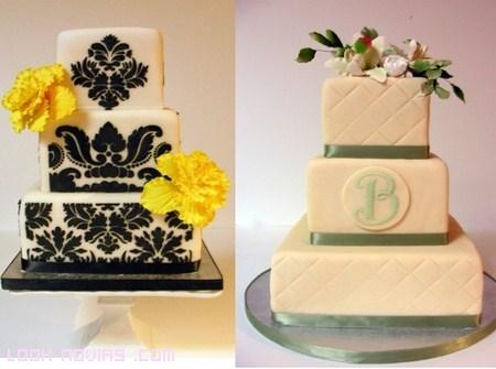 tartas para bodas de lujo