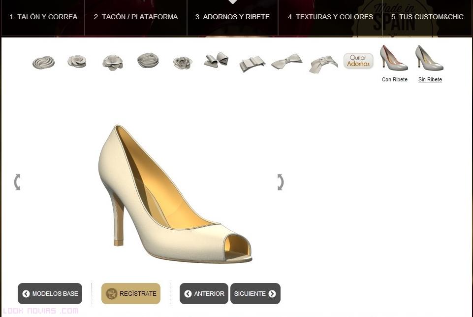 adornos en zapatos