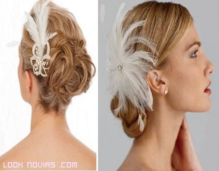 Recogidos para novias de moda