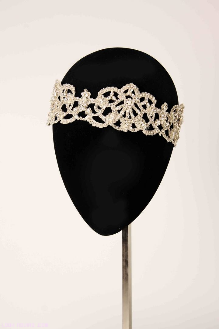 diademas de brillantes
