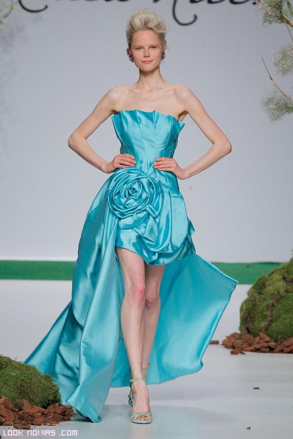 vestidos asimétricos para boda