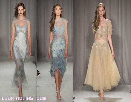 vestidos para fiesta con transparencias