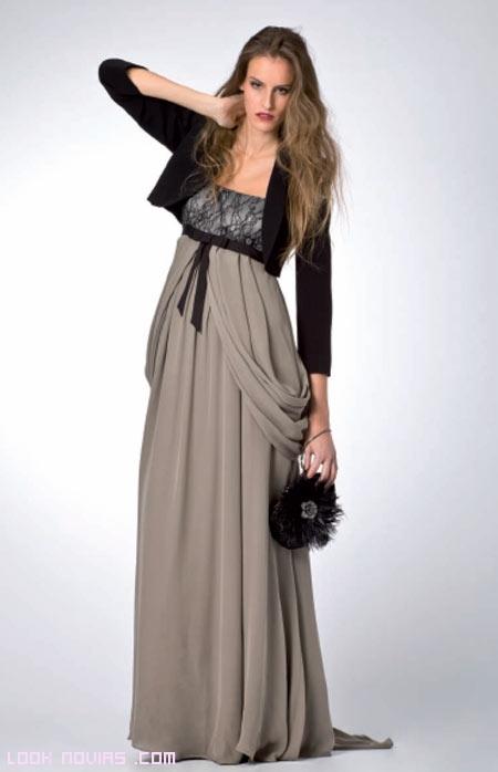 chaquetas negras para vestidos de boda
