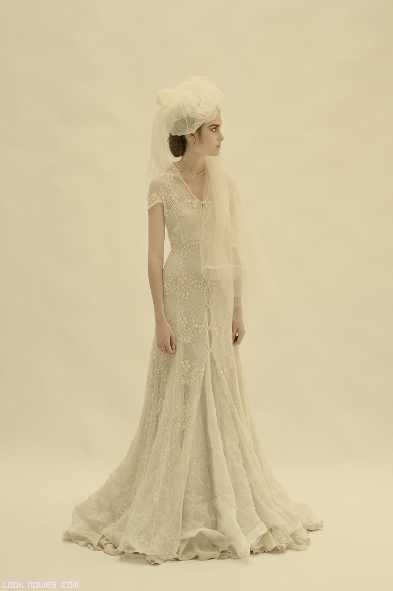 Vestidos capa para novias