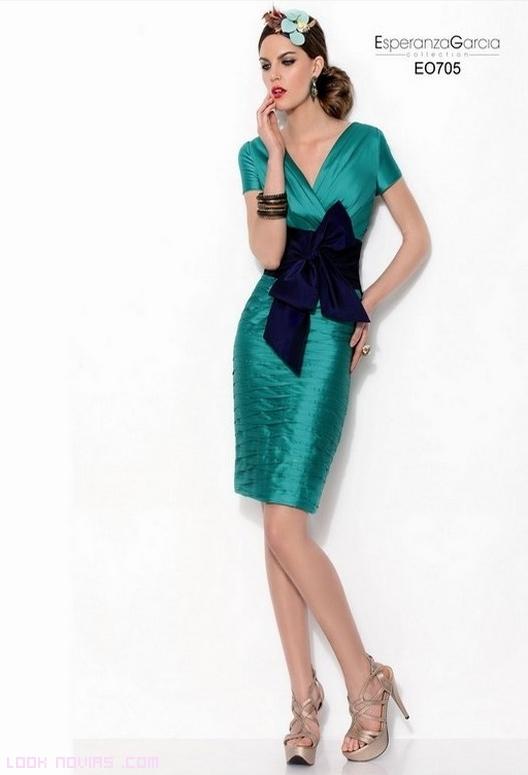 vestidos verdes para invitadas
