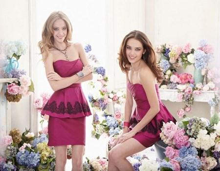 vestidos de damas cortos con suaves encajes