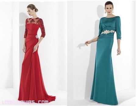 vestidos largos para invitadas