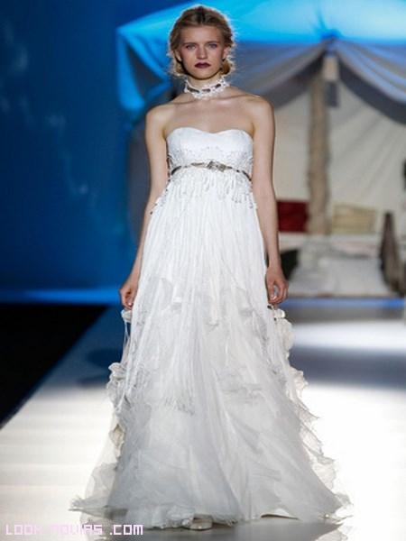 vestidos corte imperio 2014