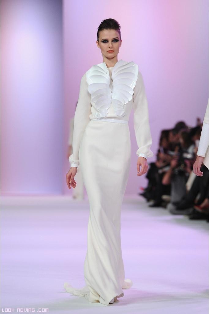 Vestidos blancos de alta costura