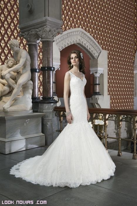 Encajes para vestidos de novia