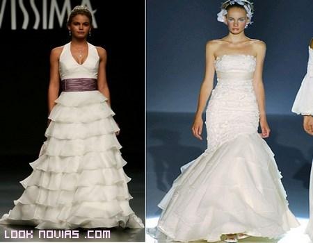 vestidos blancos de novia