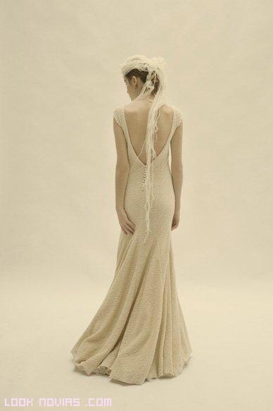 vestidos ajustados para novias