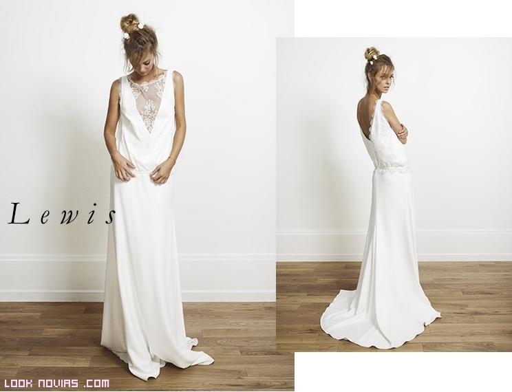 Vestidos de novia con corte en la cintura