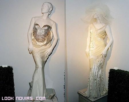 novias modernas con cristales Swarovski