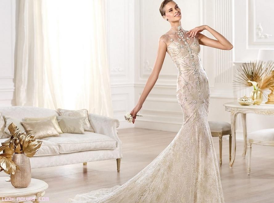 vestidos de novia en color blanco