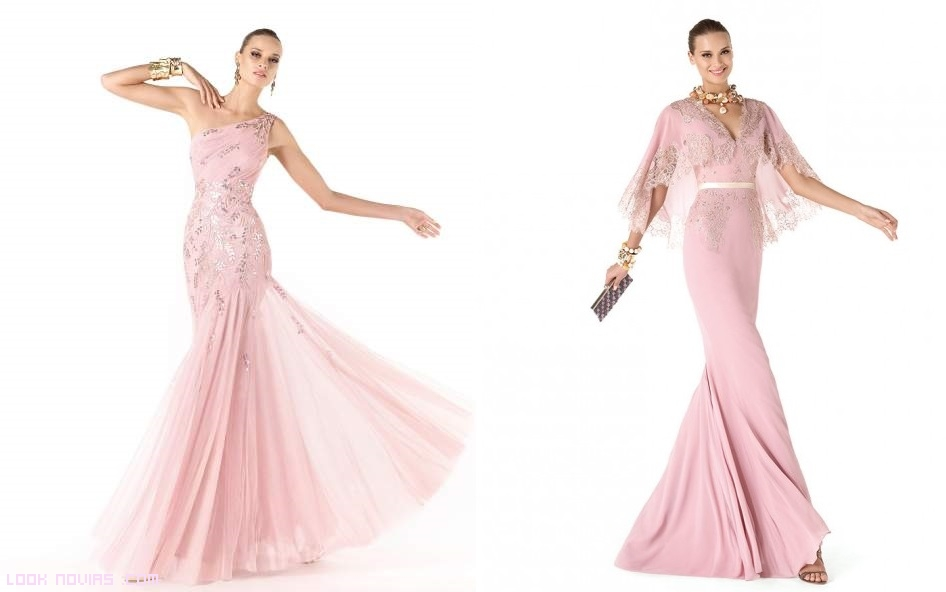 Vestidos románticos para damas de honor