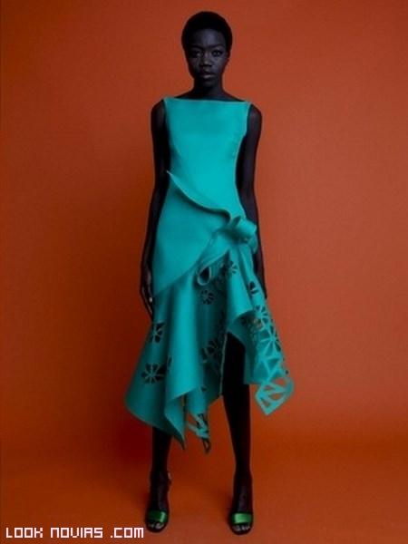 vestidos cortos 2013 con escote barco
