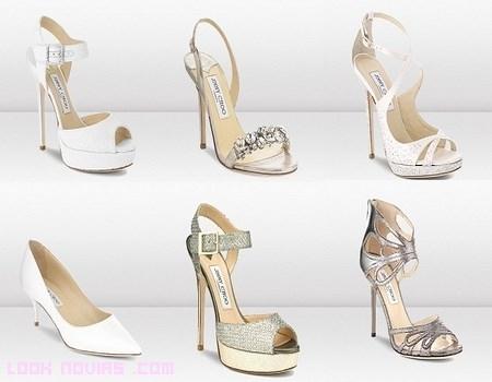 Zapatos de novia con plataformas