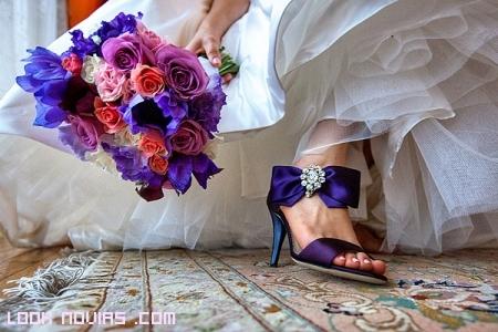 Zapatos Novia en Color