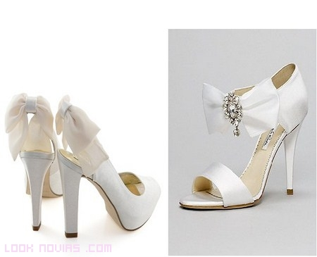 Zapatos de novia femeninos
