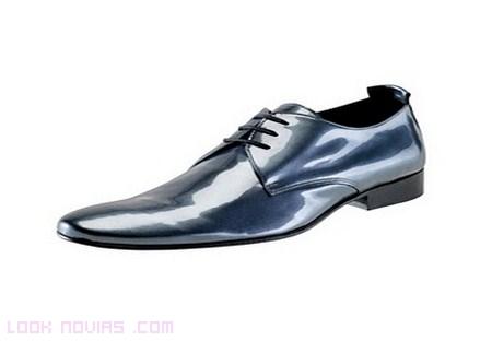 calzado divertido de novio
