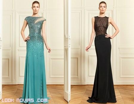 Vestidos rectos y elegantes