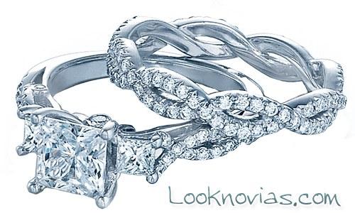 anillo de compromiso y boda verragio