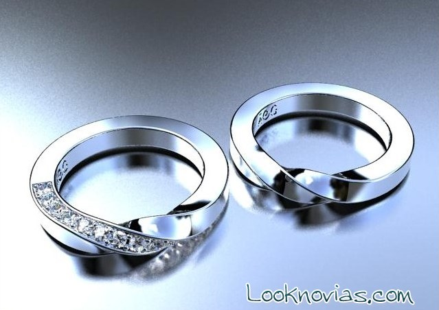 anillos de boda ana G nas