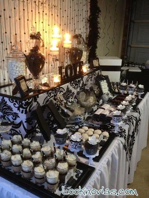 barral libre de comida en bodas