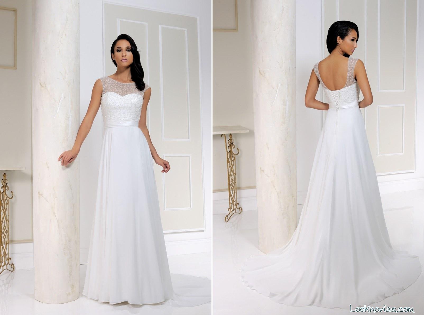 benjamin roberts vestidos rectos de novia