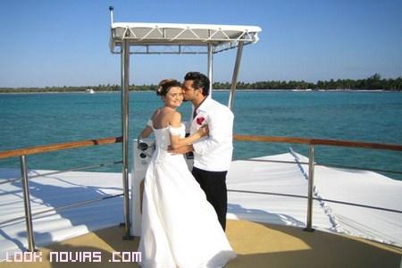 ceremonia en alta mar