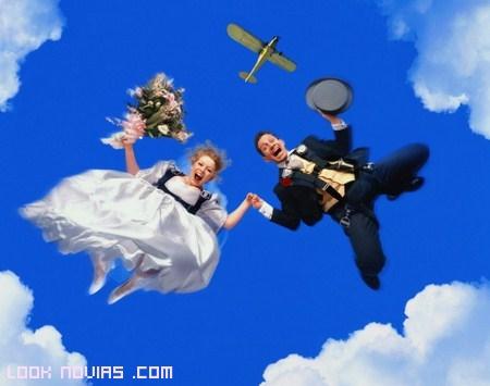 bodas desde el aire