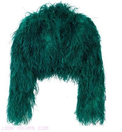 boleros de pelo en color