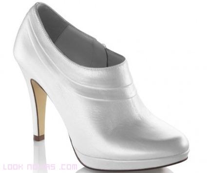 botines marfil para novias