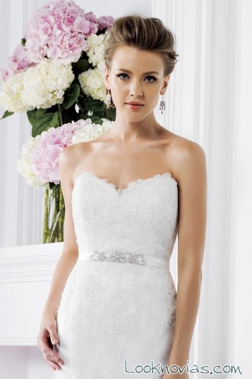 cinturón vestido sirena de jasmine bridal