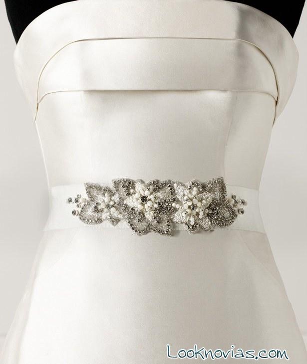 cinturones novias pronovias