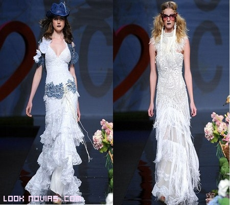 vestidos de novia alternativos