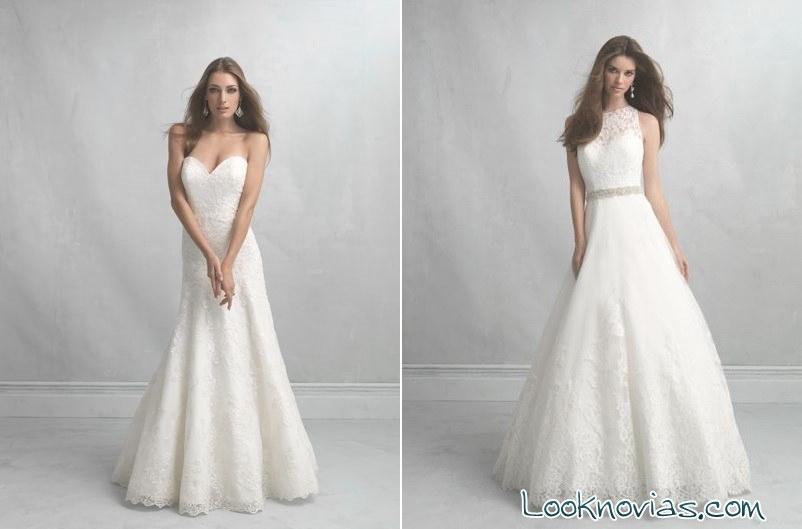 Colección de allure bridals con glamour