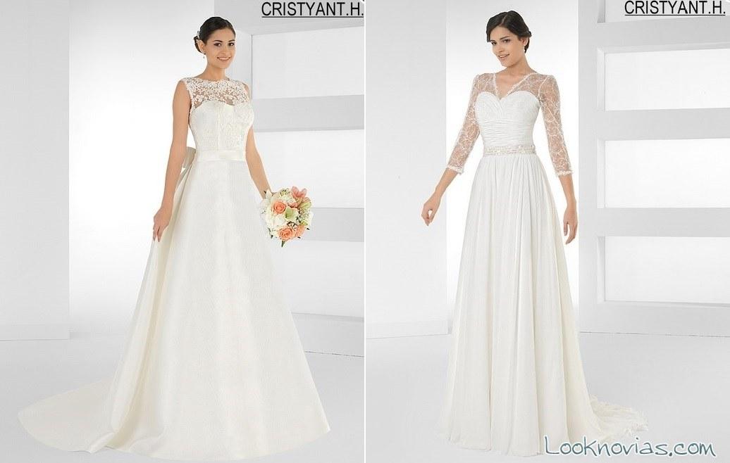 colección de novia cristyant h