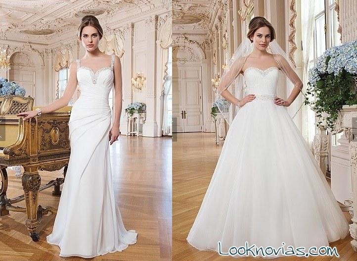 colección de novia Lillian west