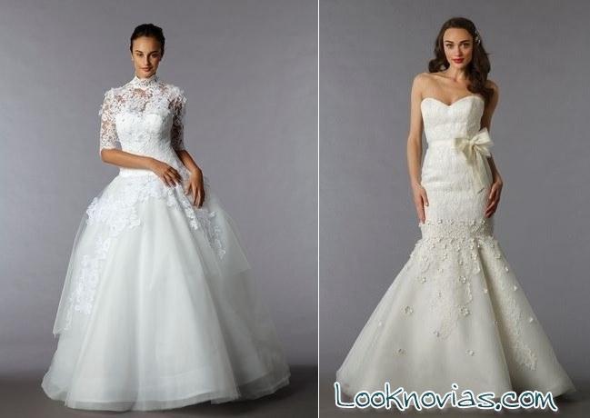 colección trajes de novia Edgardo Bonilla