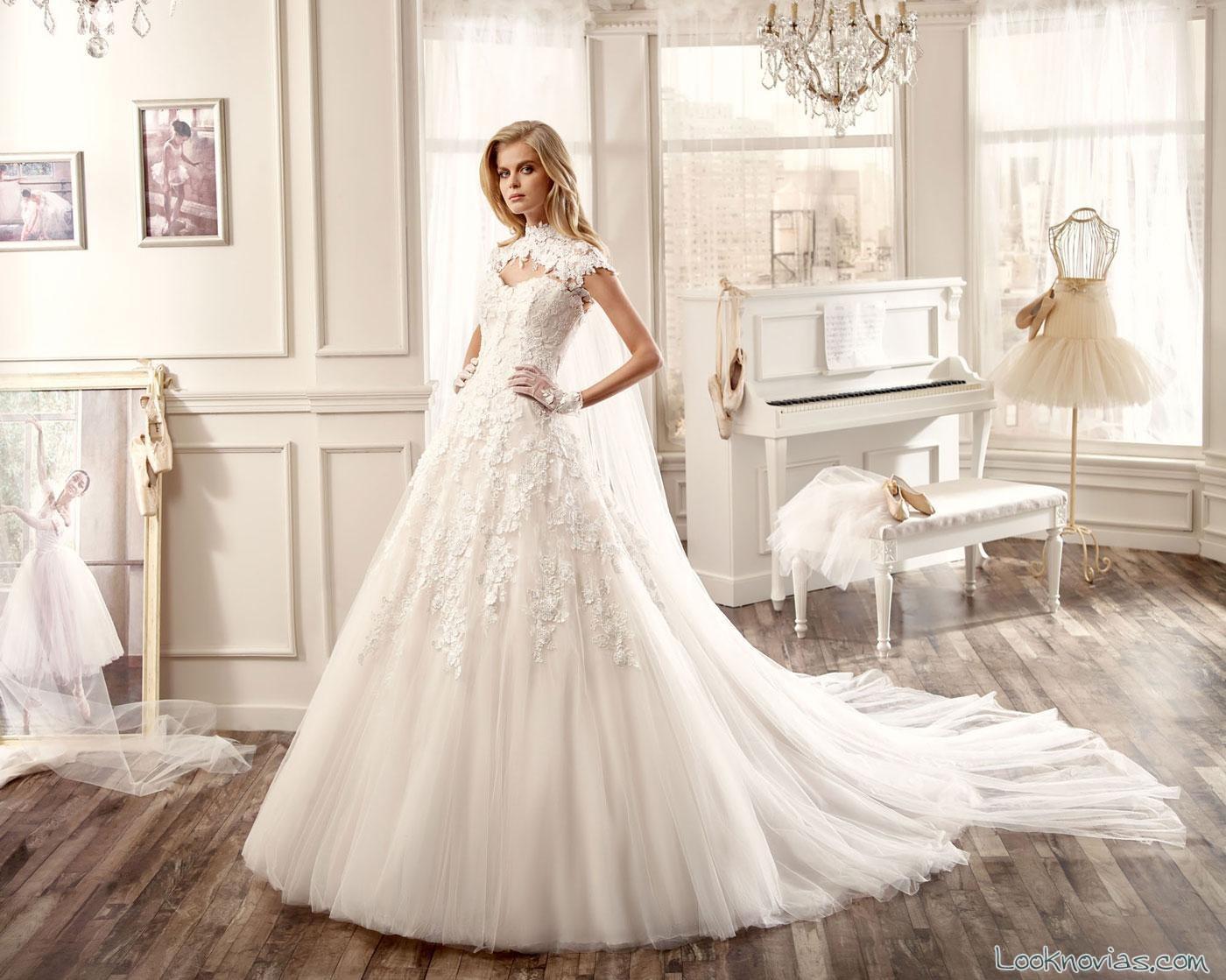 colección vestidos princesa de Nicole