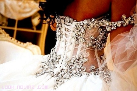 vestidos románticos de novia