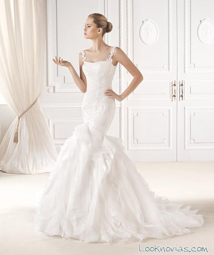 corte sirena vestido La Sposa