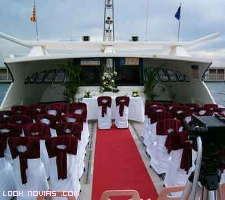 boda original a bordo