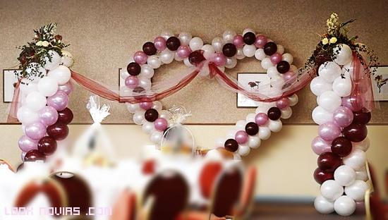 decoración románticas para eventos