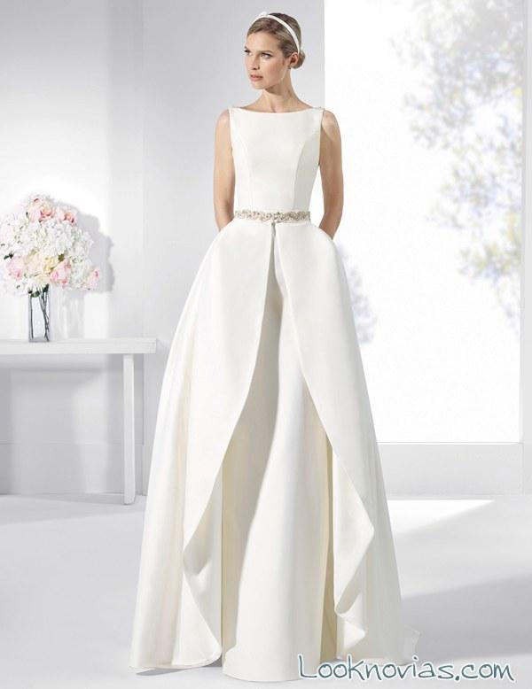 doble falda vestido franc sarabia
